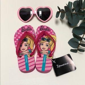 Ipanema | Mattel Barbie Flip Flops | 10/11T